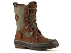 Clarks Muckers Squall Snow Boot.  In Yellow/Grey.  #connie