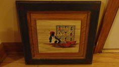 Vintage Black Americana Doll Folk Art  Wood by tennesseehills, $15.00 Vintage Walls, Vintage Black, Folk Art, Dolls, Unique Jewelry, Handmade Gifts, Wood, Painting, Etsy