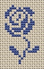 small cross stitch sampler motifs
