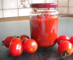 Rezept Tomatenmark von milaschnurzi - Rezept der Kategorie Saucen/Dips/Brotaufstriche