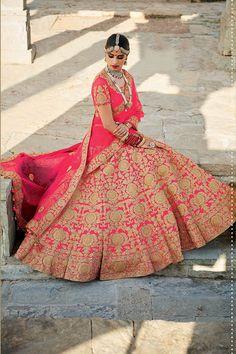 Pink Color Mastani Silk Fabric Lehenga Choli