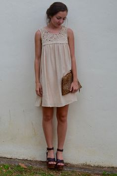 Clap Your Hands Dress in Taupe