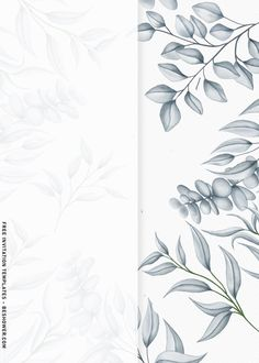 Baby Shower Background, Flower Background Wallpaper, Cute Flower Wallpapers, Flower Backgrounds, Birthday Invitation Templates, Printable Wedding Invitations, Iphone Photo Editor App, Art Editor, Friends Illustration
