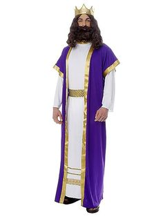The Mens Biblical King Costume is the best 2019 Halloween costume for you to get! Everyone will love this Mens costume that you picked up from Wholesale Halloween Costumes! Biblical Costumes, Adult Costumes, Cosplay Costumes, Easter Costumes, Christmas Costumes, Costume Craze, Costume Shop, Nativity Costumes, Queens