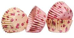 Rose Design Mini Cupcake Cases Paper/Greaseproof Cooking Muffin Cases New Cupcake Cases, Cake Tins, Rose Design, Mini Cupcakes, Cake Toppers, Cake Decorating, Paper, Muffin, Alice