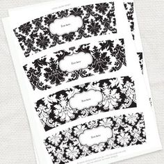 Huge selection of FREE printables. From cupcake wrappers to envelope templates to gift tags!