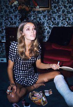 Sharon Tate in Paris, 1968