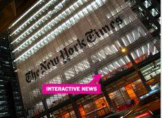 NYT: 'Construimos la Internet en la esfera del periodismo'  @Cdperiodismo