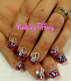 Acrylic nails by Tiffany @ A New Day Spa