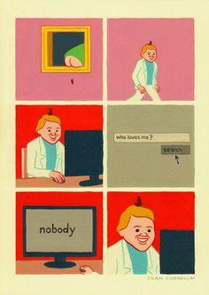 Joan Cornellà illustrations