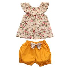 Check Out Our New Item:baba Floral Lotus... Limited TIme Discount!   GET IT NOW>>http://www.foreverpassion.us/products/baba-floral-lotus-collar-vest-bow-shorts-2-pieces?utm_campaign=social_autopilot&utm_source=pin&utm_medium=pin