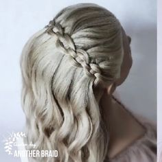 medium hair scrunchie Amazing dutchbraids By: another_braid Curly Hair Tips, Easy Hairstyles For Long Hair, Braided Hairstyles, Female Hairstyles, Style Hairstyle, Hairstyles 2018, Updo Hairstyle, Braided Updo, Wedding Hairstyles
