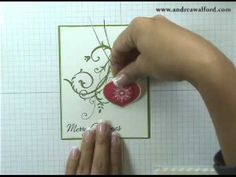 Stampin' Up! Tutorial: Crystal Ornament Christmas Card