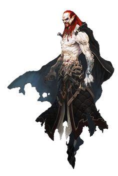 Vampire concept art from Aion Dark Fantasy, Fantasy Art, Character Concept, Character Art, Concept Art, Fantasy Creatures, Mythical Creatures, Vampires And Werewolves, Vampire Art