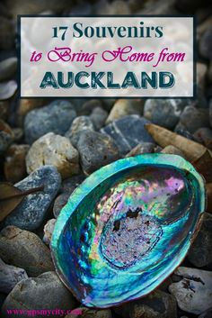 """What to buy in Auckland.  If you're privileged to visit Auckland, make sure to bring home something memorable to """"extend"""" your trip. Here are some ideas for signature Auckland souvenirs from this part of Kiwiland."""