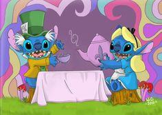 Stitch in Wonderland