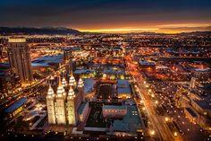 Salt Lake City, Utah :) I really enjoyed myself here. Great Eats and Farmers Market.
