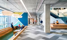 Commercial Interiors. Cisco, San Francisco. Architect: Studio O+A.