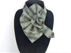 Elegant Geoffrey Beene Ladies Silk Necktie by JudysLittleShop
