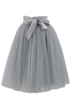 Amore Tulle Skirt in Grey - Tulle Skirt - Trend and Style - Retro, Indie and Unique Fashion