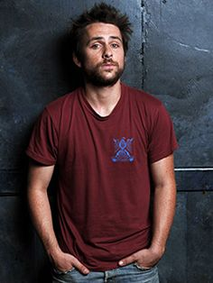 My new fave, Charlie Day. And the amazing show, It's Always Sunny in Philadelphia.