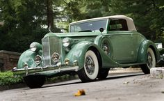 """1935 Packard Twelve Coupe Roadster - almost the car of the novel """"The Last Convertible"""""""