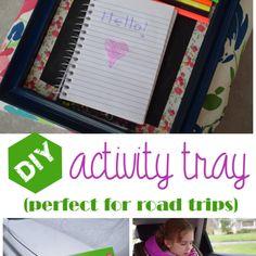 DIY Activity Tray – Engineer Mommy
