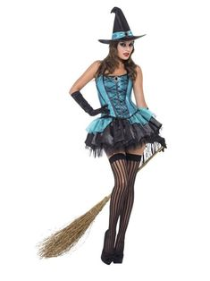 Costumes Sexy Halloween, Sexy Costumes For Women, Halloween Dress, Witch Costume Adult, Ladies Costumes, Adult Halloween, Maid Cosplay, Witch Outfit, Sexy Dresses