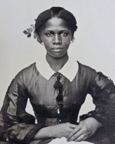 1860s Portrait Lovely Young African American Woman   eBay