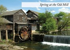 The Old Mill, Pigeon Forge, TN | Southern Recipes, Candy, Gift Baskets, Pottery, Corn Chowder