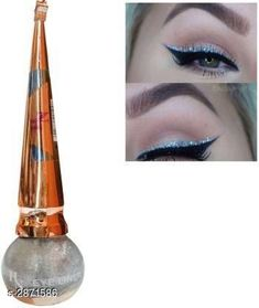 Eyeliners  H&N Long Lasting Waterproof Liquid Shimmer Eyeliner Product Name: H&N Long Lasting Waterproof Liquid Shimmer Eyeliner Product Type: Eyeliner Capacity: 5 ml Shade: Silver Finish: Shimmer Package Contains: It Has 1 Pack of  Liquid Shimmer Eyeliner Country of Origin: India Sizes Available: Free Size   Catalog Rating: ★4 (2745)  Catalog Name: H&N Long Lasting Waterproof Liquid Shimmer Eyeliner Vol 4 CatalogID_390183 C178-SC1967 Code: 021-2871586-741