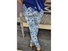 Calça Azulejo Português Azul