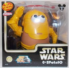 New in Collectibles, Disneyana, Contemporary (1968-Now) You are bidding on a New Disney Star Wars Star Tours  Mr. Potato Head C-3Potato C-3PO   Comes brand new and have never been opened  Box has very slight shelf wear from being in storage