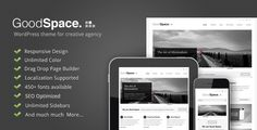 WordPress - Good Space - Responsive Minimal WP Theme | ThemeForest - only $45