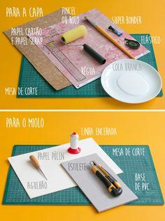 PAP Encadernação artesanal, simples e divertida