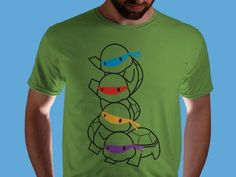 Want this shirt.... Along with a turtle backpack