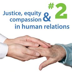 2nd Principle: Justice, Equity and Compassion in Human Relations