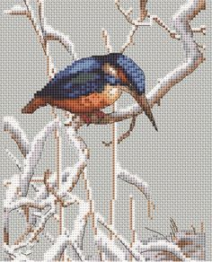 Based on a vintage illustration by Noel Hubert Hopking (1883-1964), this stunning Let It Snow cross stitch kit from Creative World of Crafts is sure to delight the experienced stitcher.