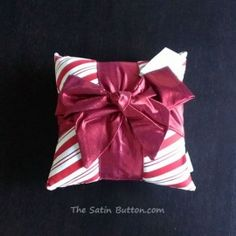 2013 Woof N Poof Christmas Pillow Candy Cane