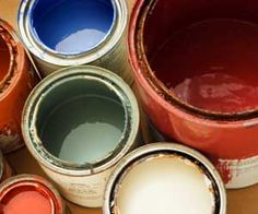 cleaning latex paint from laminate floors