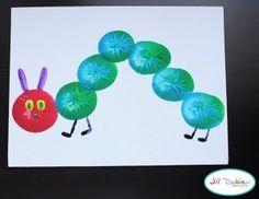Caterpillar balloon art - Creepy Crawlers