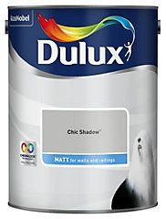 Dulux Ultra Pure Brilliant White Matt Emulsion Paint - B&Q for all your home and garden supplies and advice on all the latest DIY trends White Wall Paint, White Paints, White Walls, Grey Paint, Dulux Warm Pewter, Dulux Chic Shadow, Dulux Polished Pebble, Dulux Paint, Colored Ceiling