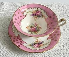 Image result for Pink e brain foley china tea cup