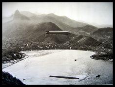 Graf Zeppelin sobre o Rio de Janeiro em 1930
