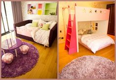 Little girls bedrooms I created!