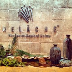 Relache: The Spa at Gaylord Palms is amazing!!! I would live here if I could!