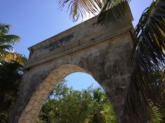 Archway to the jungle, Tulum, Mexico 2016