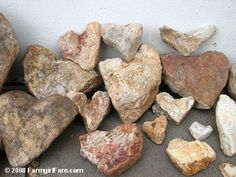 I love my heart rock collection. :)