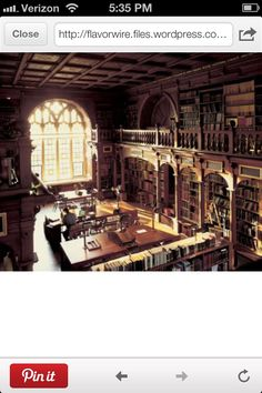 Library - Hogwarts