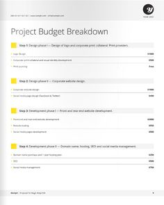 Freelance Designer Proposal Template For Download At A Great Deal